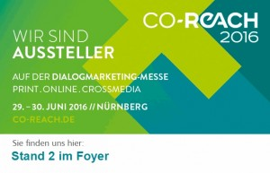 Messe-Banner Co-Reach 2016